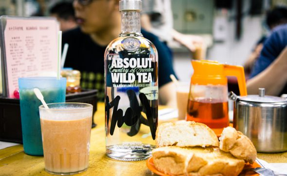 Absolut Wild Tea in Hong Kong - local campaign photography