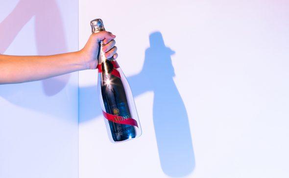 GHMumm champagne - David Guetta bottle