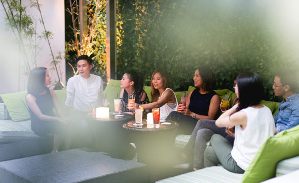 Casual team photo in HK | Liquid Interiors | Photography by Tracy Wong