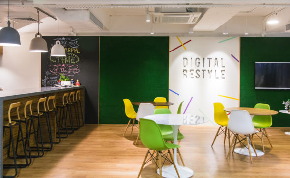 PRIZM social media agency | Commercial & Office Interiors Photography by Tracy Wong | Hong Kong