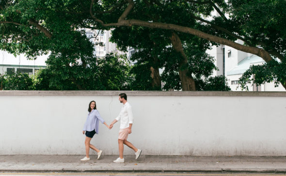 Maternity Photography Hong Kong | couple portraits in Sai Ying Pun