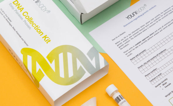 Younibody DNA Test | Hong Kong product photographer