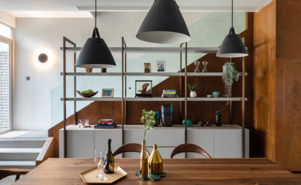 Dining Room interiors - Architecture and Interior Photographer HK